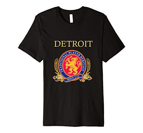 Detroit Player Heritage (Strohs Beer Shirt)