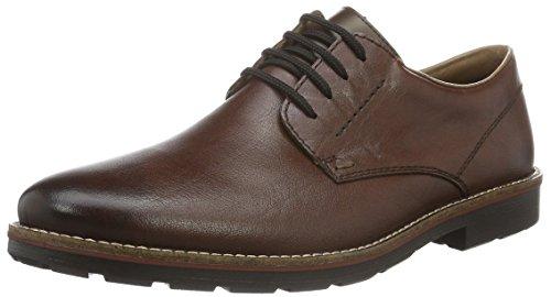 Rieker 15323, Zapatos de Cordones Derby para Hombre Marrón (havanna / 25)
