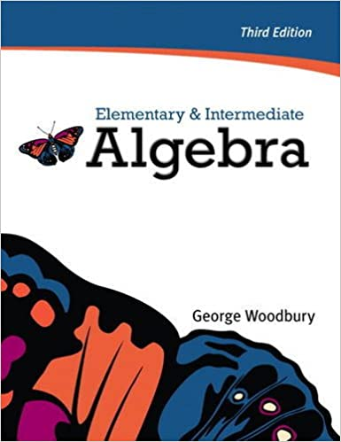 Elementary intermediate algebra 3rd edition george woodbury elementary intermediate algebra 3rd edition george woodbury 9780321665485 amazon books fandeluxe Image collections