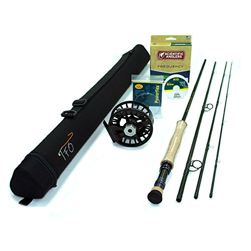 8wt Reels (TFO BVK Fly Rod Outfit (8wt, 9'0