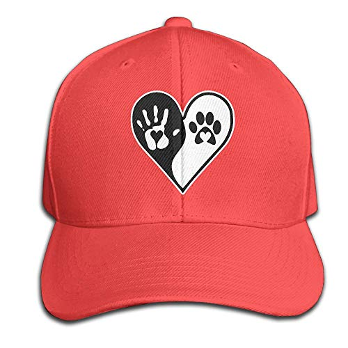 Adult Funny Hand Paw Print Dog Cat Paw Travel Print Cool Cap ()