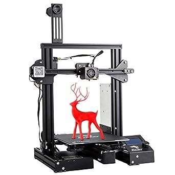 Amazon.com: Creality - Impresora 3D con cama magnética ...