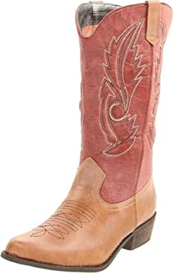 Coconuts by Matisse Women's Gaucho Boot,Tan/Red,6 M US