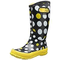Bogs Kids Dots Waterproof  Rain Boot, , 9 M US Toddler