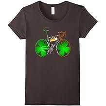 Bicycle Amazing anatomy tshirt - Irish St. Patricks Day Ver