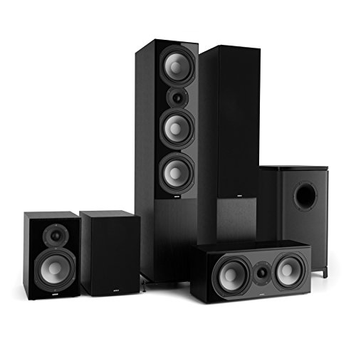 NUMAN Reference 851 Surround Sound System 5.1 (Home Cinema, Altavoz de pie, subwoofer Activo, 2X Altavoz de estantería…