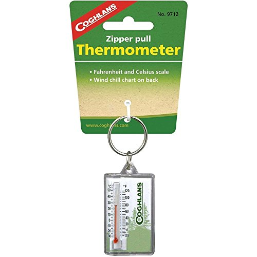 Coghlans 9712 Zipper Pull Thermometer product image