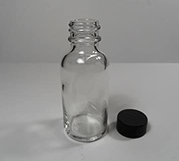d9f06f2abd5a Amazon.com: 25 Pack Brand New GLASS Boston Round 1 Ounce Bottles w ...