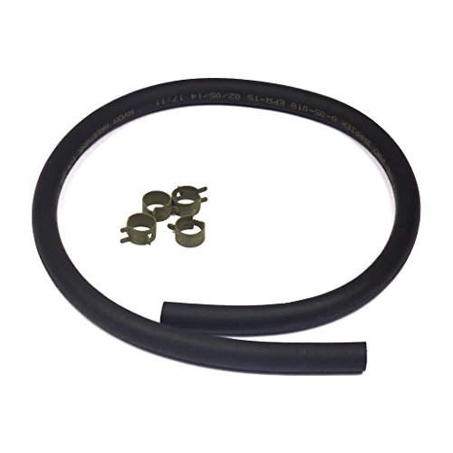 Briggs & Stratton 25-Inch Fuel Line with 4 Clamps 5414K Briggs Gas Engine
