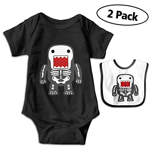 BenF Funny Cool Domo-kun Skeleton Baby Onesie Outfits Bodysuit Romper for 0-24months]()
