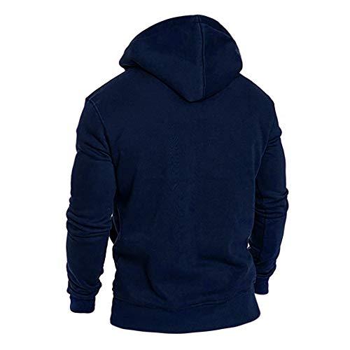 Winter Tracksuits MCYs Autumn Blouse Long Sleeve Hoodies Navy Casual Top Men's Sweatshirt IvHAvqwg