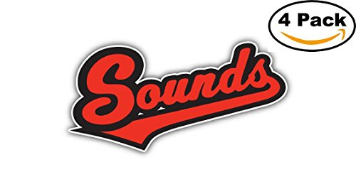 Nashville Sounds MILB Minor Baseball MLB Car Bumper Sticker Decal 5X3