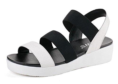 2017 nuevas sandalias planas del verano planas con salvaje en las sandalias 1