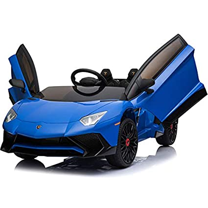 Amazon Com Mini Moto Lamborghini 12v Kids Ride On Car 2 4ghz Rc