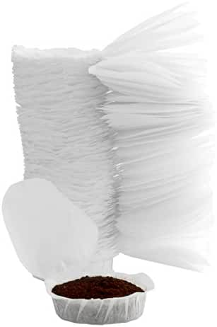 """Paper Replacement Filters for """"Perfect Pod"""" Coffee Machines & Hamilton Beach Individual Cup Brewers, 200-Count Disposable Filters"""
