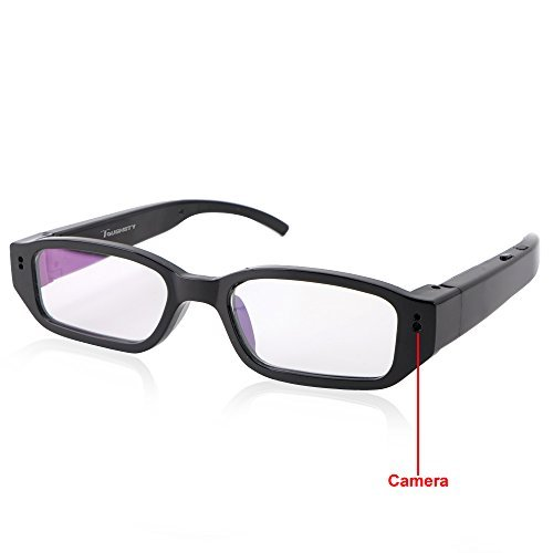 Toughsty™ 8GB 1920x1080P HD Video Glasses Hidden Camera Mini Eyewear DV Camcorder with Audio Function by Toughsty