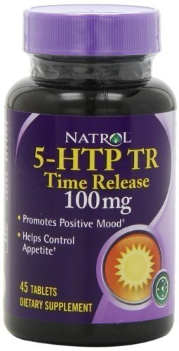 NATROL 5-HTP 100MG TIME RELEASE, 45 TAB