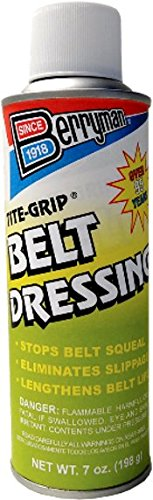 - Berryman Products 0807 Tite-Grip Belt Dressing Can 7 oz.