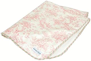 product image for Glenna Jean Isabella Throw Blanket, Pink/Cream