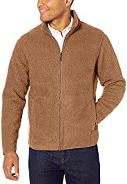 Amazon Essentials Men's Sherpa Fleece Full-Zip Ja