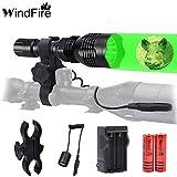 WINDFIRE WF802 Waterproof 350 Lumens 250 Yards...