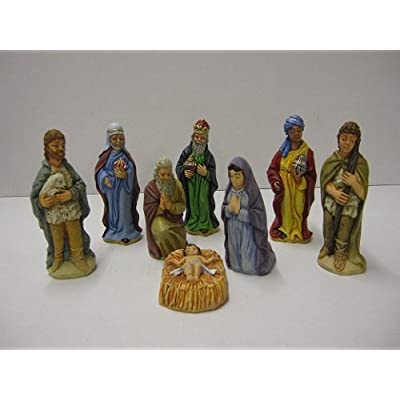 Supercast Moulds ONLY Make Your own 8 x Christmas Nativity with These Rubber Latex Moulds.: Toys & Games