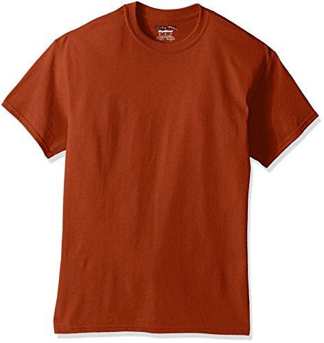 (Gildan Men's DryBlend Classic T-Shirt, Texas Orange, Large)
