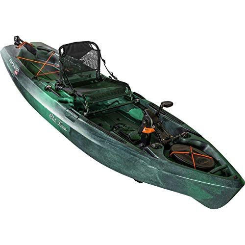 Old Town Top Water 106 PDL Angler Fishing Kayak