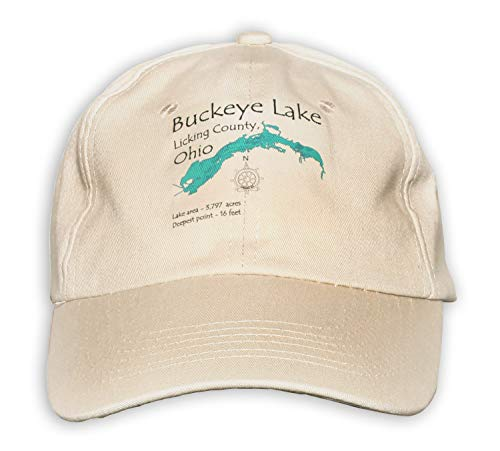 Pipie Lake & North Pipe in POLK, WI (2305 LA) - Baseball Cap - Nautical chart and topographic depth map. ()