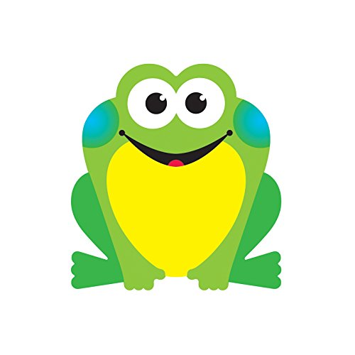 Mini Accents Frog - Trend Enterprises T-10504BN Frog Mini Accents, 36 per Pack, 12 Packs