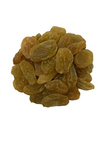 NUTS U.S. - Golden California Raisins, JUMBO!!! (3 LBS)