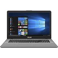 ASUS VivoBook Pro 17 N705UD-EH76 (i7-8550U, 16GB RAM, 256GB SATA SSD + 1TB HDD, NVIDIA GTX 1050 4GB, 17.3 Full HD, Windows 10) Laptop