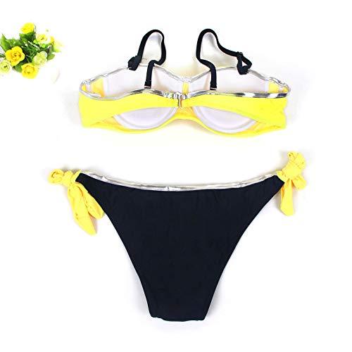 Longra Bikini ¡¡¡Sexy Mujer, Sujetador Push-up Bikini con Relleno Traje de baño Traje de baño: Amazon.es: Ropa y accesorios