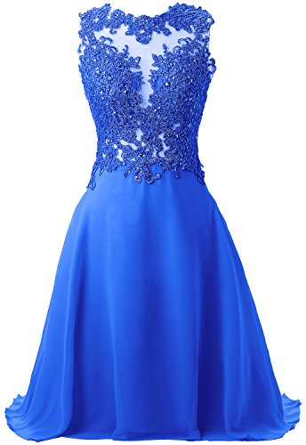 Appliqued Open Size 32W 23 0 Lace Callmelady with Short Colors Sexy Homecoming Dresses Ocean Blue Waist gABw0