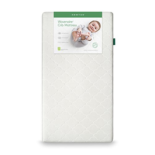 Newton Baby Crib Mattress And Toddler Bed | 100% Breathable Proven To Reduce Suffocation Risk, 100% Washable, Hypoallergenic, Non-Toxic, Better Than Organic - White