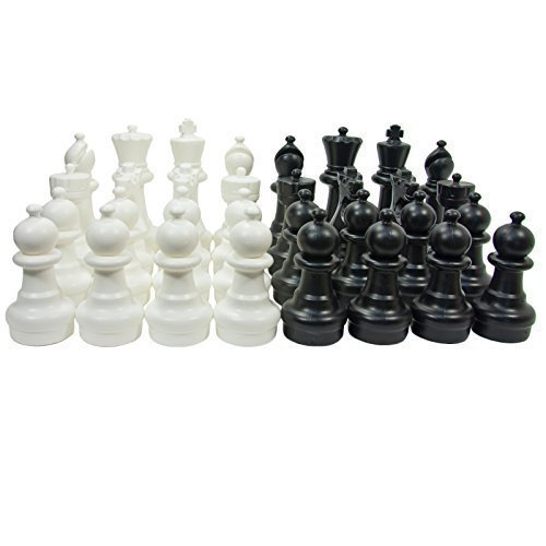 Uber Games Plastic Garden Chess Set with Nylon Mat by Uber Games