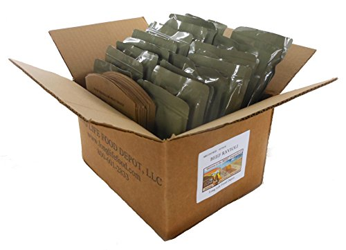 MRE Spaghetti with Beef and Sauce Entrees - 18 Pack ()