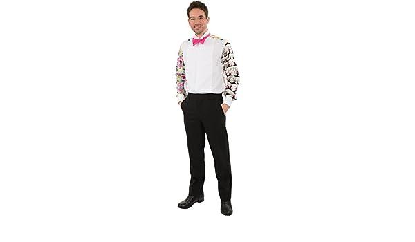 Para hombre Gnat Prom Patterned Funny Foul Fancy vestido camisa ...