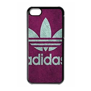 The logo of Adidas for Apple iPhone 5C Black Case Hardcore-9