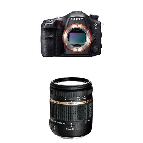 Sony SLT-A99V SLR-Digitalkamera schwarz + Tamron 18-270mm Objektiv
