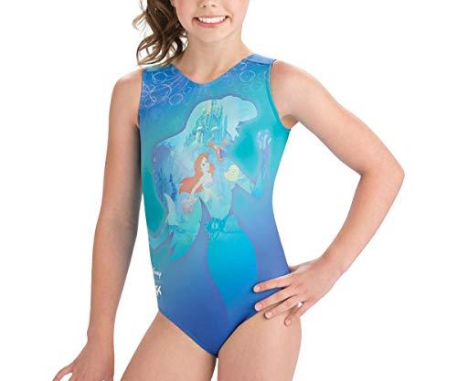 (GK Elite Toddler Disney Ariel in The Sea Gymnastics Leotard (Toddler, Green))