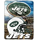 "The Northwest Company NFL Plush Raschel Throw Blanket 12th Man Design, 60"" x 80"""