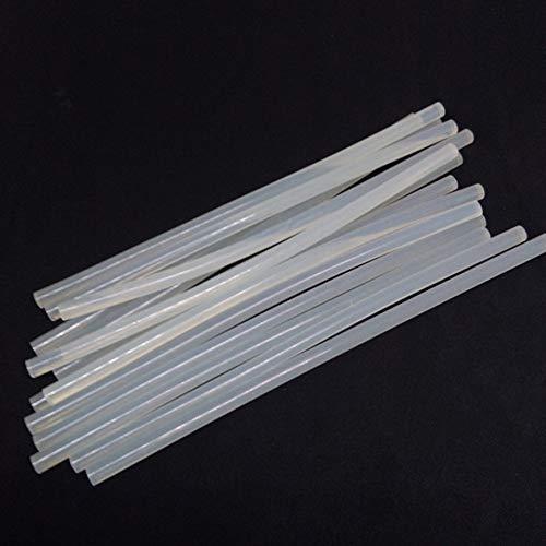 7-190mm 7mmx190mm colle chaude de bâtons de colle colle l'adhésif de fonte pour le projet fait à la main de bricolage Home Office projet artisanat Fix - Blanc