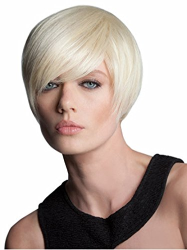 SmartFactory Fashion Natural Silver White Short Bob Human