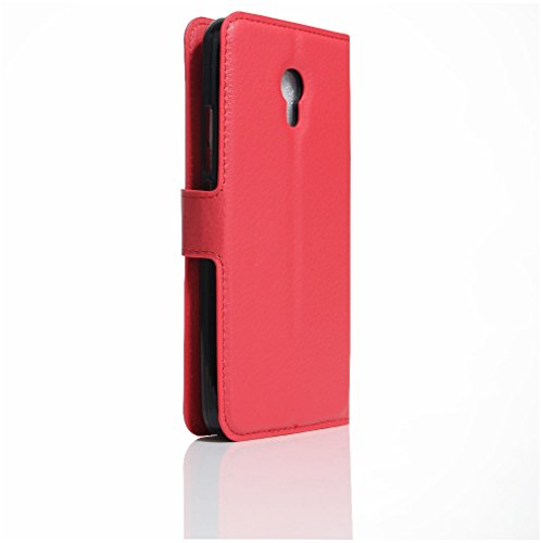 Funda MEIZU M5(Meilan 5),Manyip Caja del teléfono del cuero,Protector de Pantalla de Slim Case Estilo Billetera con Ranuras para Tarjetas, Soporte Plegable, Cierre Magnético C