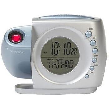 Sylvania Projection Alarm Clock Radio
