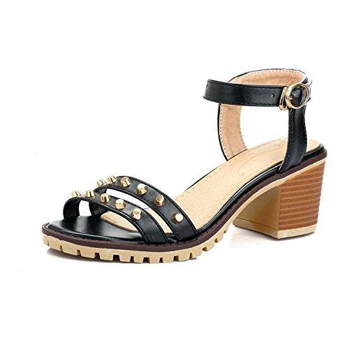 WHW Women's Flat Summer Comfort PU Outdoor Flat Women's Heel Others Sandals B072KKMKQ2 Parent bbd005