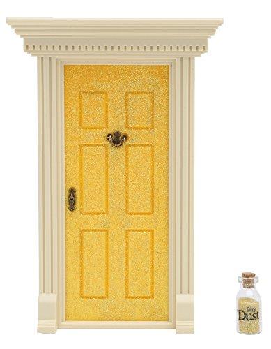 Lil' Fairy Door Door Novelty, Sparkle Yellow]()