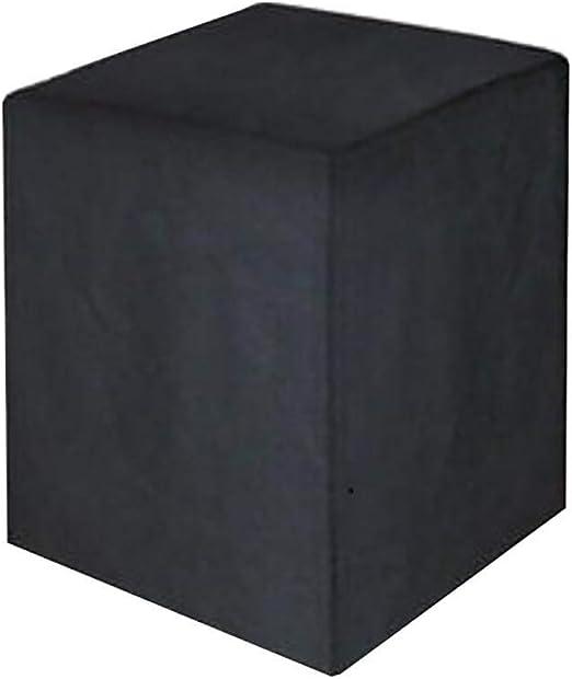 Soar-lonas Conjuntos de Muebles Fundas para Muebles De Jardín Cuadrado Funda De Protección Impermeable Juego De Fundas para Mesa Y Silla,Negro: Amazon.es: Hogar