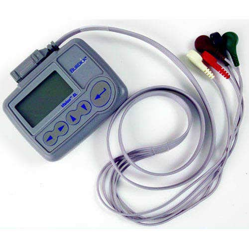 Mortara V53-1EG Burdick Vision Holter Software with USB Download Cable and 2 Burdick 4250 Recorders